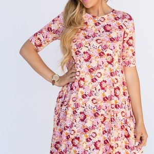 Swing Tunic-Pink Floral